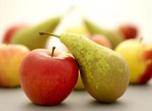 Appels met peren vergelijken Engelse taalfouten