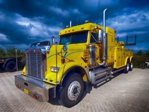 Amerikaanse vrachtwagen